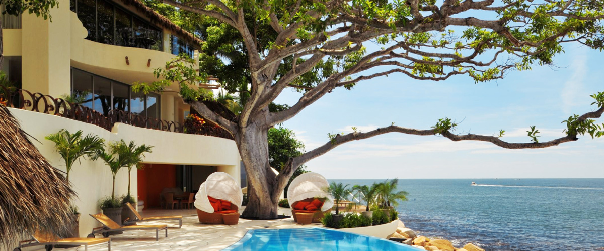 Stunning Puerto Vallarta, Mexico luxury home.