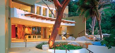 Exclusive beach estates designed by Ricardo Elias under the living architecture concept.